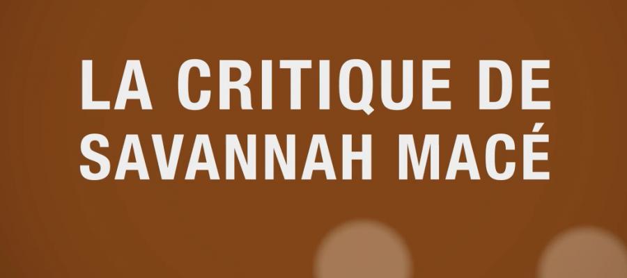 savannah macé